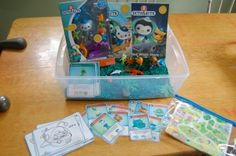 Octonauts Sensory Bin and More