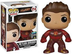 Funko Pop TV: The Flash - Unmasked Flash 2015 SDCC Exclusive Vinyl Figure