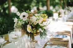 Whimsical Wedding Inspiration   Natte Valleij - KADOU Whimsical Wedding Inspiration, Wedding Table Flowers, Beautiful Bride, Romantic, Table Decorations, Rose, Green, Pink, Romance Movies