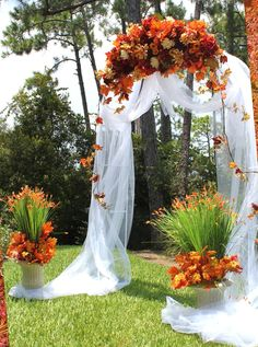 Want the perfect wedding arch for your day and want inspiration? Browse our wedding arch ideas for indoor wedding arches and outdoor wedding arches. Arch Decoration, Ceremony Decorations, Wedding Centerpieces, Wedding Bouquets, Wedding Flowers, Floral Wedding, Wedding Lanterns, Ceremony Backdrop, Tulle Flowers