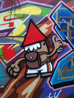 "Street art | Mural ""Street artist KBTR"" (Utrecht, Netherlands) by KBTR"