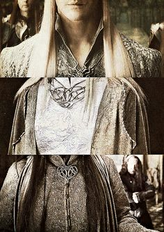 Thrandy,Celeborn, Elrond. I think? Interesting the clasps are all so similar. Elvish lords are similar I suppose