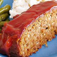 Family-Style Meatloaf with Comforting Cream Cheese Mashed Potatoes from Ezra Pound Cake