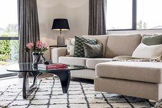 Cosy Living Room | Corner Sofa | Room Layout | Interiors | Decor Room Corner, Corner Sofa, Living Room Inspiration, Cosy, Interior Decorating, Layout, Interiors, Furniture, Design