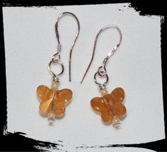 Check out this item in my Etsy shop https://www.etsy.com/listing/231141439/10mm-crystal-butterfly-earrings-in