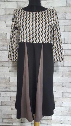 Unique wide dresses perfect for pregnant women, size 42
