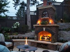 30 Ideas for Outdoor Fireplace and Grill - these are amazing!