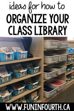Setting up and organizing your classroom library can be overwhelming especially for new teachers. Read to find tips you can use to make it a breeze! #ClassroomLibraryOrganization
