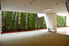 Jardines verticales sistema Ignacio Solano Hotel Cosmos