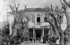 The former McCraith house of Bournabat. Michael Chabon, Greek History, Human Emotions, German Language, Istanbul, Past, Old Things, Vintage Cars, House