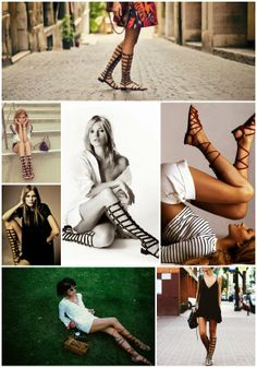 The Closet Confessional: I Have a Confession: Knee High Gladiator Sandals