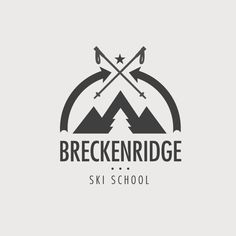 Breckenridge Ski Resort: Logo Explorations via Stopbreathing