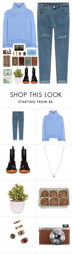 """*ready to rumble*"" by my-black-wings ❤ liked on Polyvore featuring Tory Burch, STELLA McCARTNEY, ASOS, Lux-Art Silks, FREDS at Barneys New York, CASSETTE, Michele, Forever 21 and Fuji"