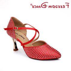 38.25$  Watch now - https://alitems.com/g/1e8d114494b01f4c715516525dc3e8/?i=5&ulp=https%3A%2F%2Fwww.aliexpress.com%2Fitem%2FRhinestones-Decorated-Red-Silk-Satin-Closed-Toe-Women-s-Dancesport-Shoe-Girls-Latin-Dance-Shoe-High%2F32682190630.html - Rhinestones Decorated Red Silk Satin Closed Toe Women's Dancesport Shoe Girls Latin Dance Shoe High Heel Rumba Chacha Samba Shoe 38.25$