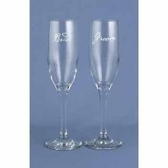 Bride And Groom Script Flutes  package of 2 *** Check this awesome product by going to the link at the image.