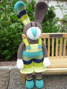 ao with <3 - Oh my, hope he will visit me on easter / Arthur, crochet Bunny ♥