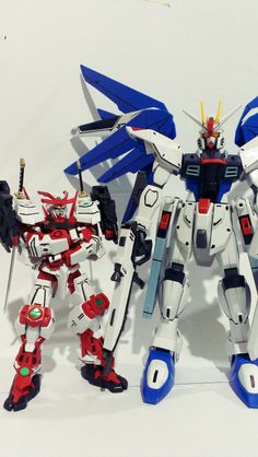 when a sengoku astray talking with freedom gundam, i think it's good.