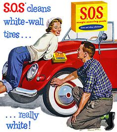 1956- S.O.S. soap pads