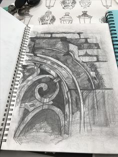 Ian murphy study architecture drawing art, architecture journal, a level art sketchbook, artist A Level Art Sketchbook, Sketchbook Layout, Artist Sketchbook, Sketchbook Inspiration, Sketchbook Ideas, Architecture Journal, Architecture Drawing Art, Black Architecture, Architecture Artists