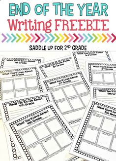 This fun writing activity is perfect for the end of the school year. Your students will write letters to the class coming up and share all kinds of information that they learned. Come see the letters my students wrote and grab this FREE writing template t