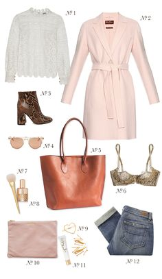 At the Shops | Style Inspiration: Lace Tops, Pink Coats & the Tuscany Tote