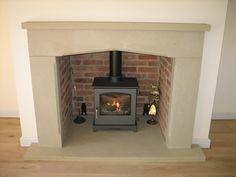 Derbyshire Grit Stone fireplace