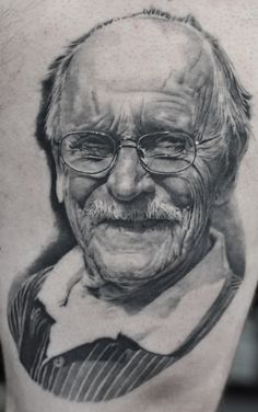 Black & Grey portrait By Schwarz,photorealism. For more of his work please visit the facebook page of H.V.44 Tattoo Studio. Photorealism, Black And Grey Tattoos, Tattoo Studio, Facebook, Portrait, Art, Art Background, Headshot Photography, Kunst