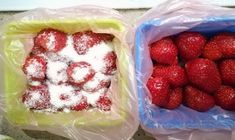 O metodă ingenioasă de congelare a căpșunilor. Toate vitaminele se păstrează! Raspberry, Strawberry, Tasty, Yummy Food, Preserves, Izu, Meals, Cooking, Breakfast
