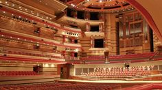 Birmingham Symphony Hall is considered to be one of the UK' best concert hall.