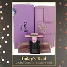 Today Only! 20% OFF this item.  Follow us on Pinterest to be the first to see our exciting Daily Deals. Today's Product: Cindy C. Own It 75ml/2.5oz Eau de Parfum Spray EDP Perfume Fragrance for Women Buy now: http://perfumebrands.net/products/cindy-c-own-it-75ml-2-5oz-eau-de-parfum-spray-edp-perfume-fragrance-for-women?utm_source=Pinterest&utm_medium=Orangetwig_Marketing&utm_campaign=Only%20Today%20...%20Special%20Price%20for%20a%20special%20person #fashion #perfume #smellgood #picoftheday…