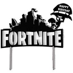 The Best Fortnite Party Ideas! The Ultimate Birthday Planning Guide! - My Kid Wants It! Fortnite Party Cake and Cupcake Toppers – Decorate Your Birthday Cake with One of These! 10 Birthday Cake, 9th Birthday Parties, Birthday Cake Toppers, Boy Birthday, Star Wars Cake Toppers, Diy Cake Topper, Cupcake Toppers, Spiderman Cake Topper, Theme Mickey