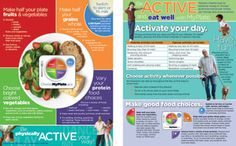 Active MyPlate Handout