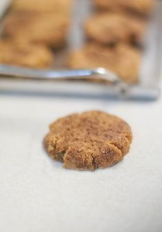 Molasses Spice Cookies (AIP, Paleo)