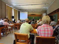 Workshop in main campus. eMBA