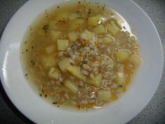 Uzená polévka s bramborem