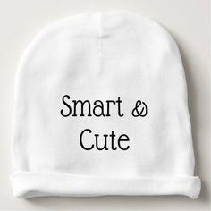 smart & cute baby beanie - accessories accessory gift idea stylish unique custom