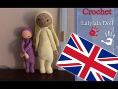 Uncinetto amigurumi 17: Bambola simile a Lalylala - YouTube