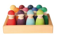 NEW ITEMS 2013 : 12 Rainbow Friends