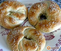 Bagel, Bread, Easy, Drinks, Bread Baking, Finger Food, Brot, Breads, Drink