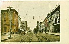 FdL Fond du Lac, WI, street car, turn-of-the-century..?