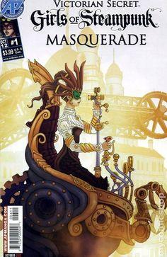 Steampunk Book Covers   Victorian Secret Girls of Steampunk Masquerade (2012) comic books