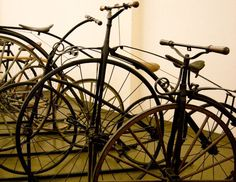 Antique French Bicycles photograph by RandolphArt on etsy
