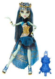 Amazon.com: Monster High 13 Wishes Haunt the Casbah Frankie Stein Doll: Toys & Games
