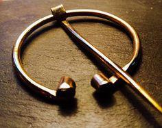 High Quality Bronze Penannular Brooch