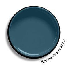Resene Undercurrent Ceiling Paint Colors, Paint Colours, Basic Colors, All The Colors, Resene Colours, Split Complementary, Online Coloring, Colour List, Color Swatches