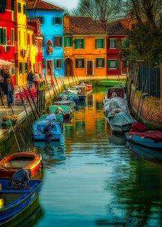 Magical Burano by Neil Cherry