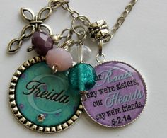 Personalized SISTER GIFT birthday gift name sister daughter nana grandma best friend Our roots say we're sisters our hearts say were friends on Etsy, $25.99