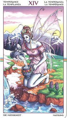 Tarot Card Decks, Tarot Cards, Temperance Tarot Card, Online Tarot, Affirmation Cards, Major Arcana, Oracle Cards, Deck Of Cards, New Wave