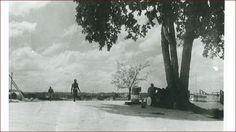 Weg naar Boskamp, Coppename-punt....ca 1956