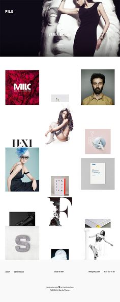 PILE is very unique & creative portfolio wordpress theme with amazing minimalistic design! It's very flexible and it fits all the kind of projects showcase.